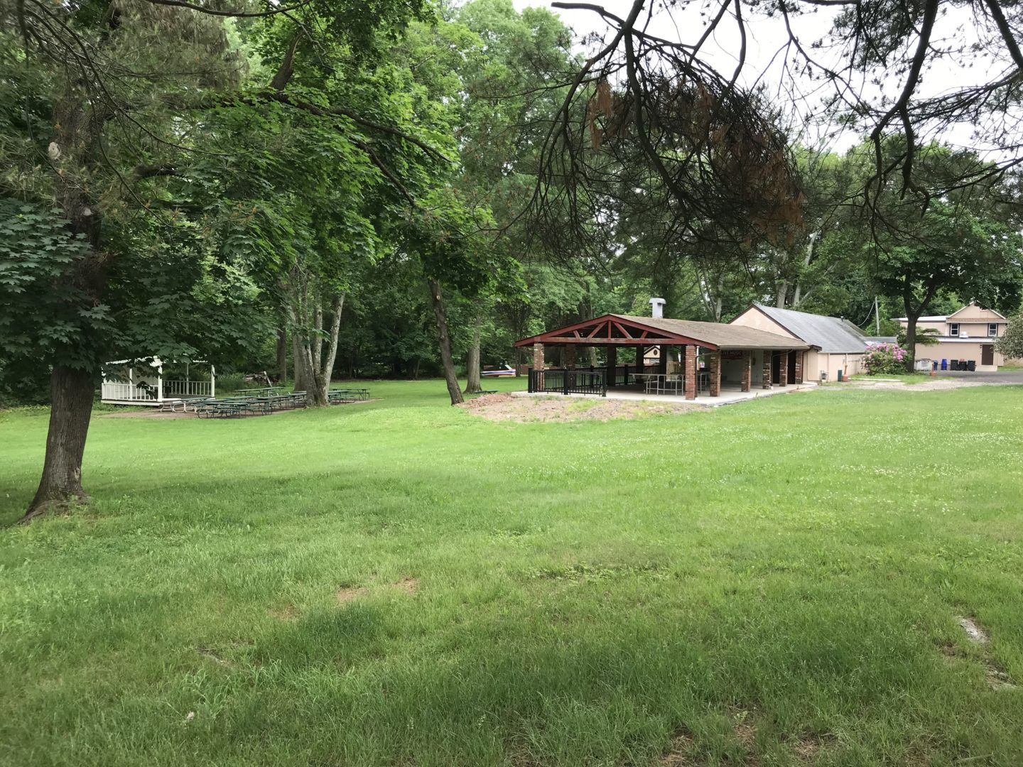 Pavillion, Picnic Grounds and Bandstand