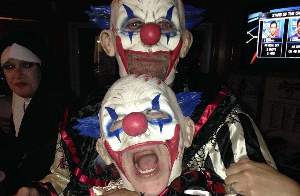 Bad Clowns - Halloween 2015, Watchung Hills Elks Lodge #885