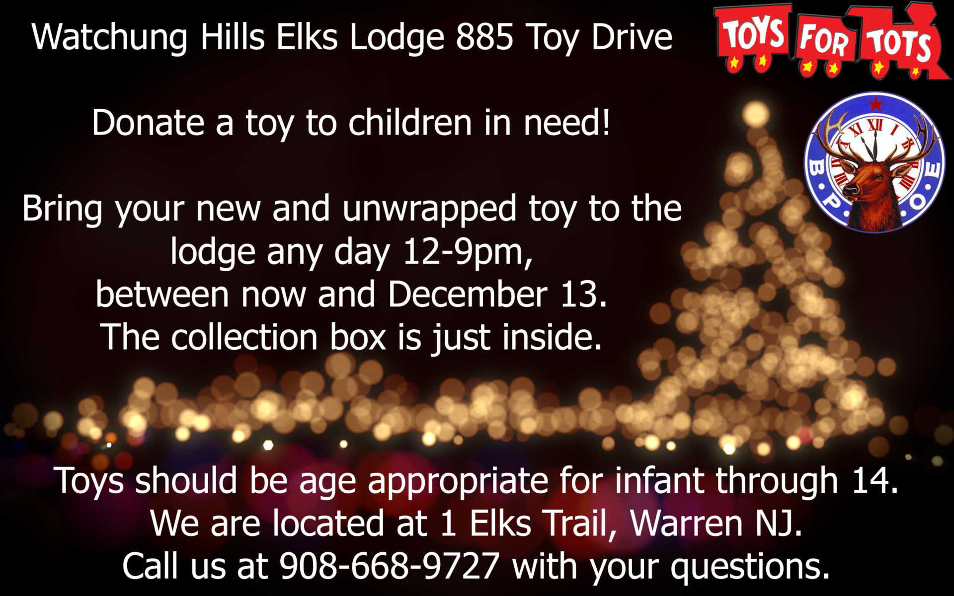 Toys for Tots 2018