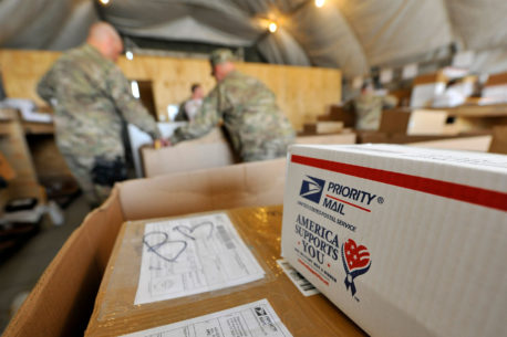 Care Packages for Army personnel