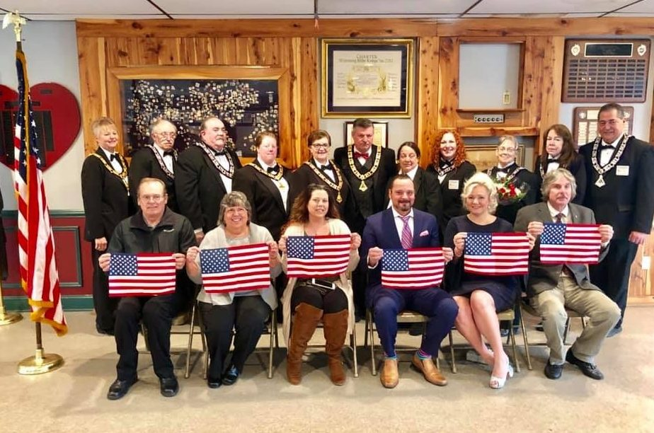 Watchung Hills Elks Lodge #885 Initiated 6 new members on 10-Feb-2019.