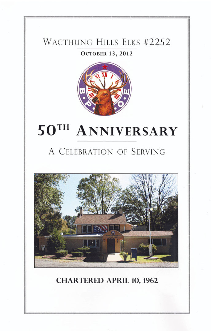 Lodge2252 25th Anniversary Pamphlet Cover