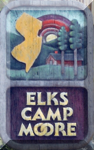 Elks Camp Moore Sign