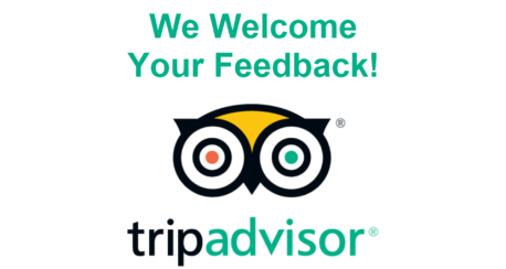 We're on TripAdvisor!