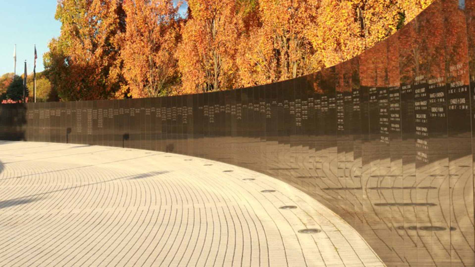NJ Vietnam Veterans' Memorial Wall