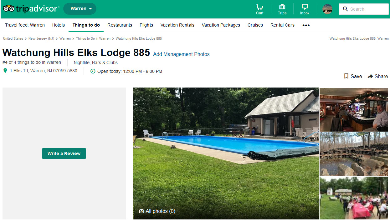 Lodge 885 is on TripAdvisor