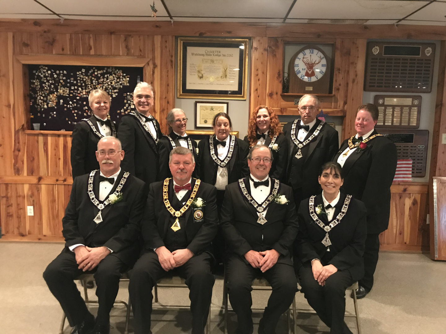 Watchung Hills Elks Lodge 885, Officers, 2019-2020