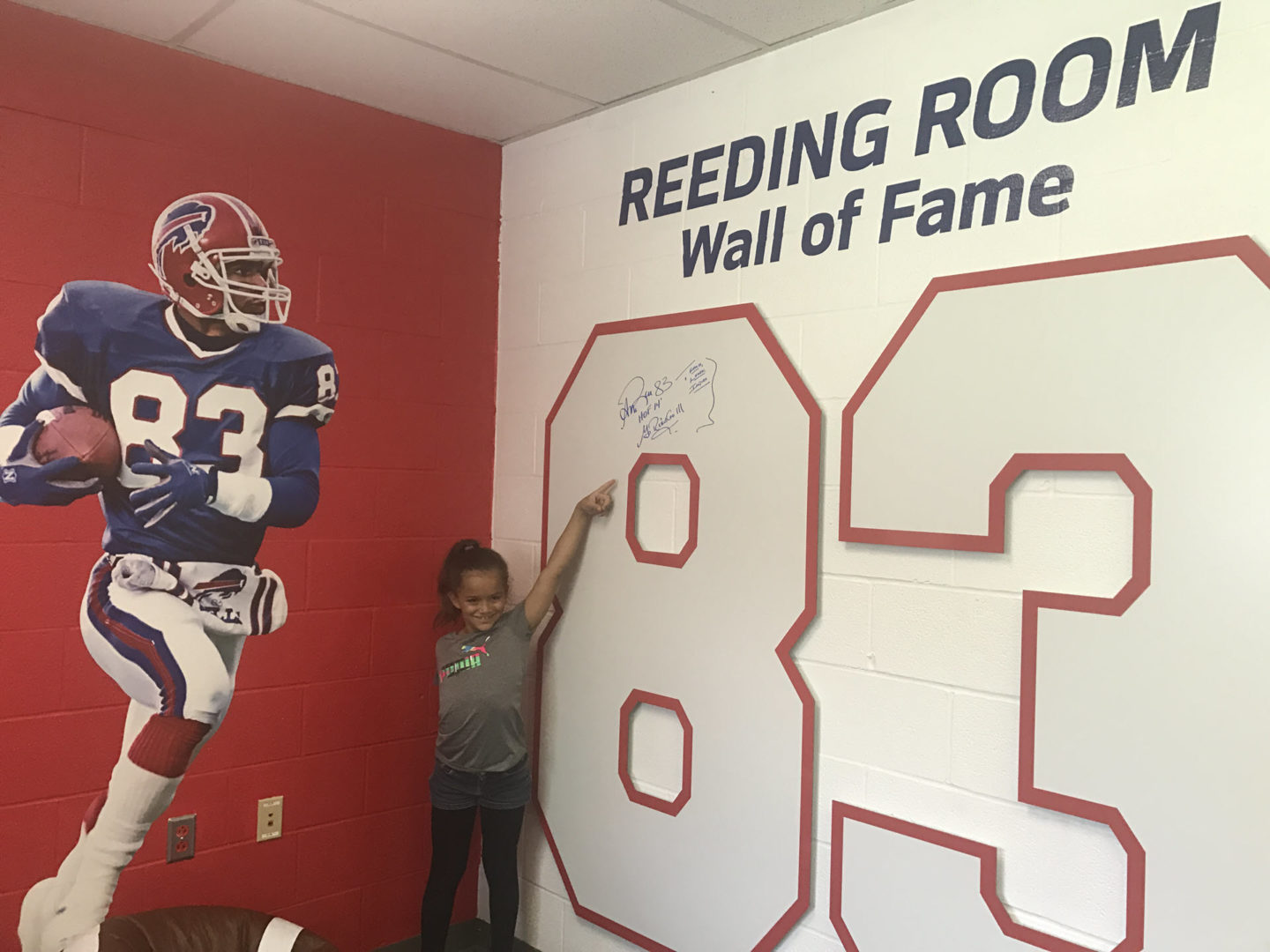 "Andre Reed ""Reeding Room"""